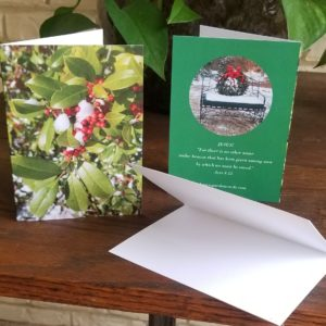 Harris Garden Cards- Christmas Cards
